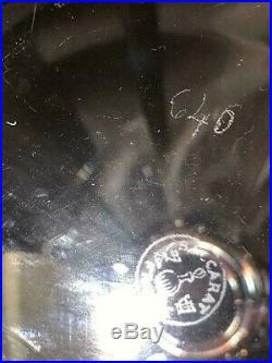 Baccarat Courvoisier Crystal Glass Decanter Bottle Cognac Brandy NapoleonVNTG
