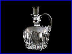 Baccarat Crystal Rum Jug Decanter & Stopper Vintage Piece