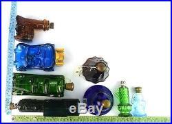 Collection Of Vintage Avon Bottles Lot Decanters / After shave Bottle G1-24 US