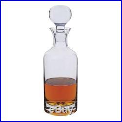 Dartington Crystal Vintage Spirit Whisky Clear Dimple Decanter 750ml Barware UK