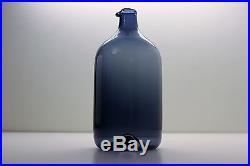 Lintupullo Bird Bottle, Timo Sarpaneva, Vintage Decanter Carafe Pitcher, Iittala