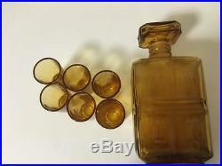 Nikka Whisky Knight Case Empty Decanter & Glass Set Vintage Limited Edition