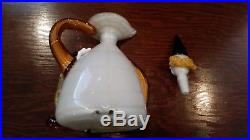 RARE! 11 Vintage Murano Hand Blown Art Glass Clown Decanter Jug withStopper