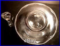 Rare VINTAGE Lalique Crystal CHAMPS DE MARS Spirit Decanter 10 Made in FRANCE