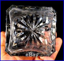 Stunning Heavy Vintage Crystal Decanter