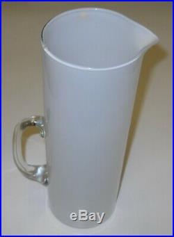 Timo Sarpaneva Vintage Opal Milk Glass Pitcher Jug Carafe 1950t Iittala Finland