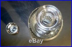 VINTAGE Baccarat Crystal PARIS (1931-1993) Spirit Decanter 11 1/2 Made France