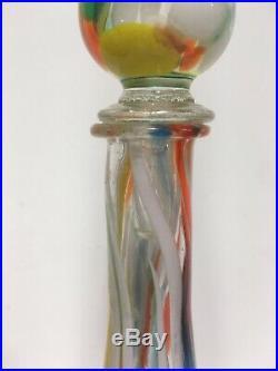 VTG. Mid Century Genie Bottle Decanter Decor Mad Men Murano
