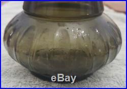Vintage 1964 Jim Beam I Dream Of Jeannie Green Glass Genie Bottle Decanter 14