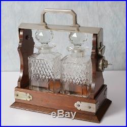 Vintage/ Antique Mappin & Webb Tantalus / Crystal Decanters