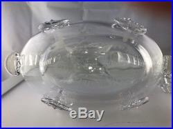 Vintage Baccarat Remy Martin Louis XIII Fleur De Lis Crystal Decanter