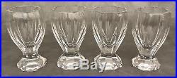 Vintage Boxed Faberge Set Crystal Decanter Finial Cup Liqueur Vodka Shot Glasses
