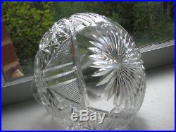 Vintage Brilliant Cut Glass/Crystal Decanter/Vase