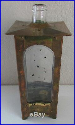 Vintage Decanter Glass Liquor Bottle Music Box How Dry I Am
