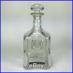 Vintage Jack Daniels 125th Anniversary Bottle Decanter 1990 Empty Glass Whiskey