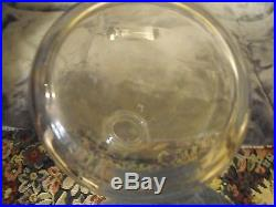 Vintage Lalique Barsac Crystal Decanter, Mint Approx 10 Tall