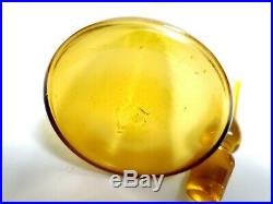 Vintage MCM Blenko Art Glass Jonquil 10.5 Cruet Decanter 920-S Winslow Anderson
