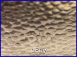 Vintage Mid Century Barware 3 Bottle Decanter Set with Case, Lock & Key