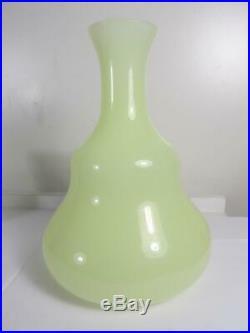 Vintage Murano Glass Vetri Cenedese Bonne Nuit Bedside Opaline Water Carafe Set