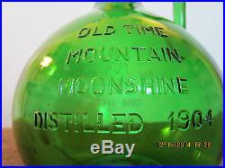 Vintage Old Time, Mountain Moonshine Bottle