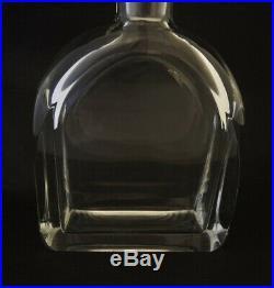 Vintage Orrefors Polished Crystal Spirit Decanter Evard Hald 1933
