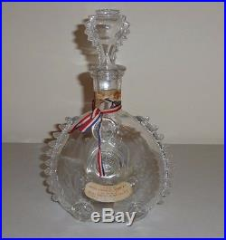 Vintage Remy Martin Louis XIII Baccarat Crystal Decanter And Stopper