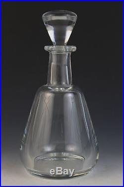 Vintage Signed Baccarat France Elegant Crystal Decanter Perfection Collection
