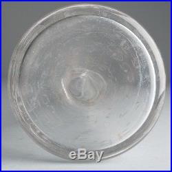 Vintage St. Louis Cristal France Crystal Glass Decanter Etched Vine Pattern 11