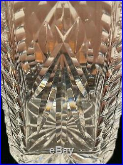 Vintage WATERFORD CRYSTAL Square 10 Giftware Spirits Wine Liquor Decanter