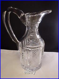 Vintage Waterford Ireland Crystal Hibernia Decanter RARE Stunning Desmond