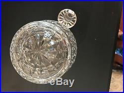 Vintage Waterford Lismore Brandy Decanter