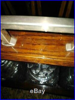 Vintage Wooden TANTALUS