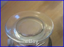 Vintage signed Baccarat, France Massena 13.5 crystal whiskey decanter