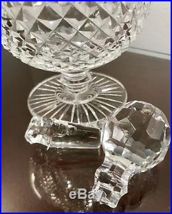 Waterford Lead Crystal Claret Decanter Vintage Irish Master Cutter Georgian Cut